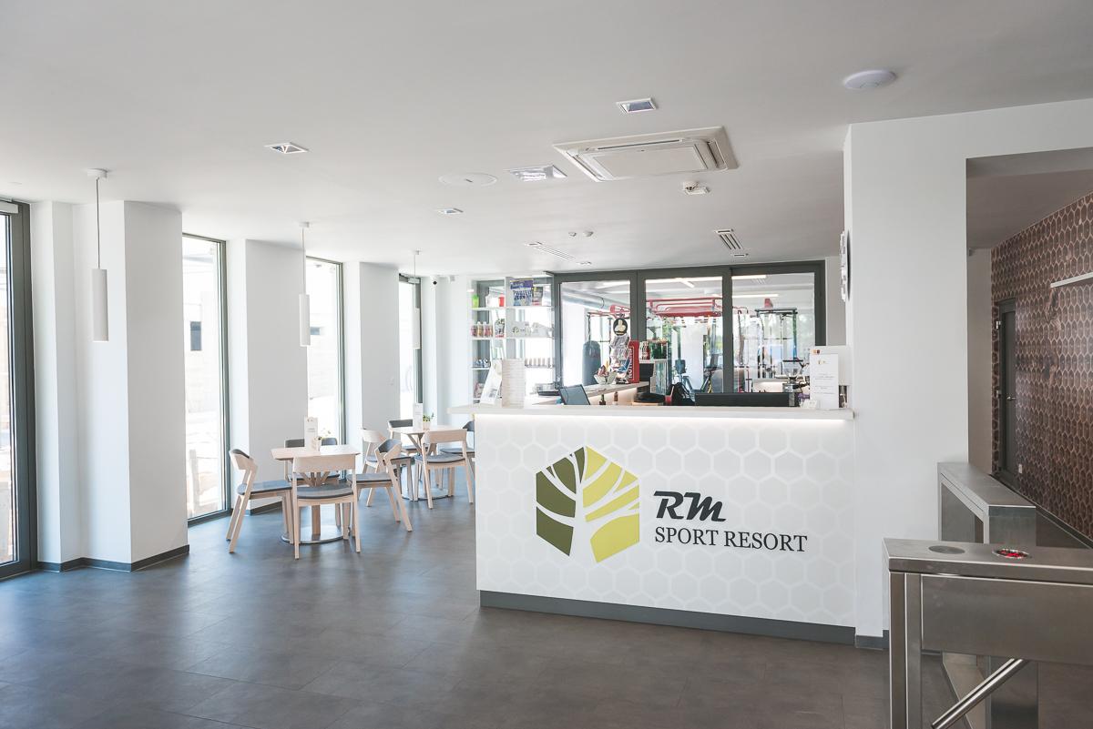Recepcia RM Sport Resort